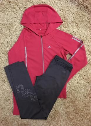 Спортивный костюм adidas одежда для спорта ,одежда для дома ,фитнес костюм