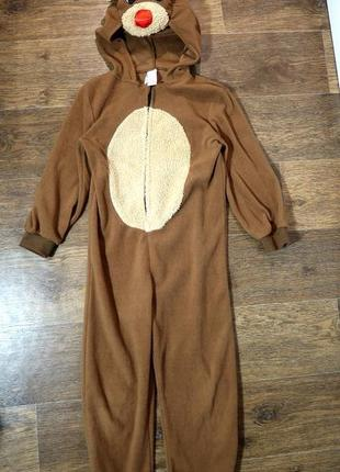 Флисовая пижама кигуруми комбинезон