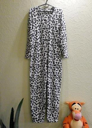 Кигуруми слип пижама теплая женская m-l, uk12