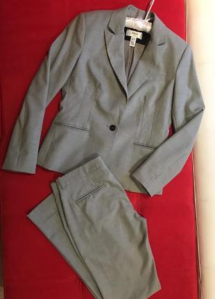 Шикарный брючный костюм люкс качество от известного бренда mango