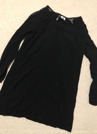 Чёрное платье old navy размер м в новом состоянии