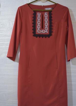 Нова сукня в етно-стилі!
