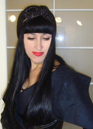 Вязаная повязка на голову чалма женская - trendy 2020 - акционное предложение