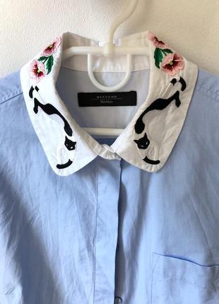 Шикарная рубашка max mara