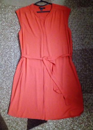 Летнее платье-рубашка