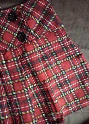 Клетчатая юбка lola&lisa