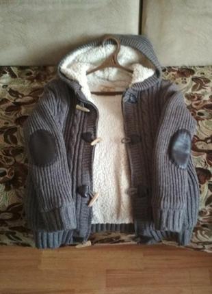 Куртка светр на меху