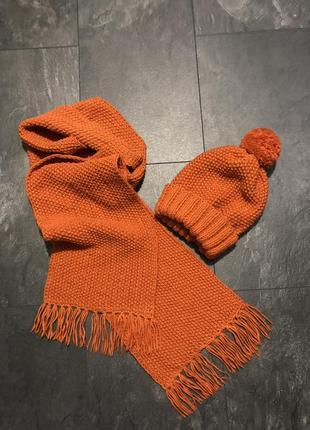 Набор- шапка+шарф