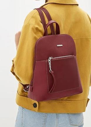 Рюкзак david jones 6109-2t темно-красный
