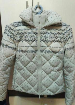 Пуховая зимняя куртка colins