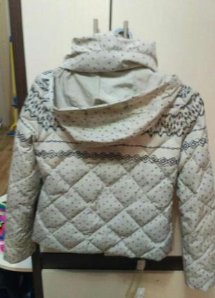 Зимняя пуховая куртка colins2
