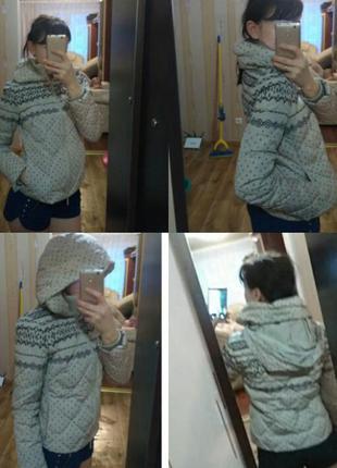 Зимняя пуховая куртка colins3