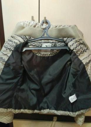 Зимняя пуховая куртка colins4
