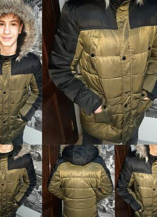 Зимняя,курточка,пуховик на подростка primark