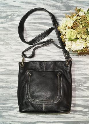 Osprey london. кожа. практичная сумка через плечо, кросс-боди