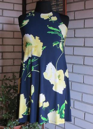 Платье трапеция 8-12 р-ра.