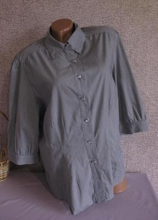 Рубашка yessica c&a стрейч коттон размер eur 48
