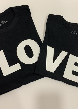 Набор футболок, футболка, парные футболки