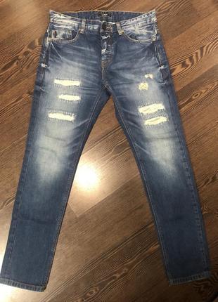 Новые мужские джинсы pull&bear