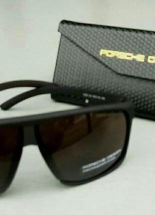 Porsche design очки мужские солнцезащитные коричневые