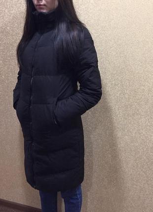 Зимний пуховик puma. пуховая удлиненная куртка puma. пуховик puma. женский пуховик