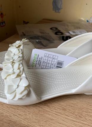 Women´s crocs lina flower d´orsay балетки сандалии w5 и 6