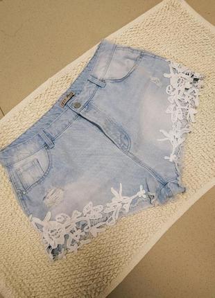 Джинсовые шорты джинсовки