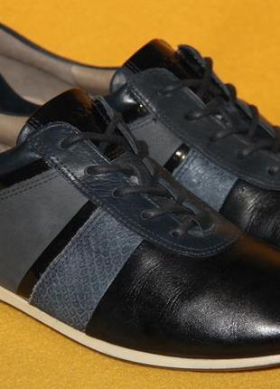 Кроссовки, туфли, мокасины ecco р.37-38 стелька 24 см