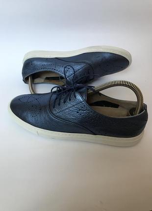 Фирменные кожаные туфли, кеды оксфорды от  fratelli rossetti 38 италия