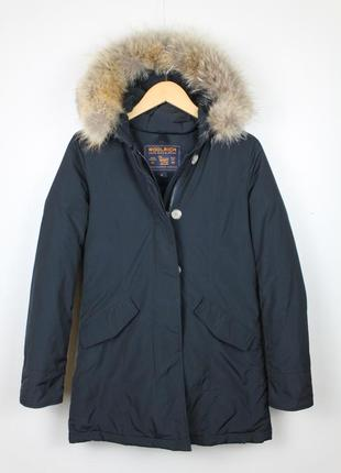 Зимняя пуховая куртка, парка, пуховик woolrich down jacket. вулрич.