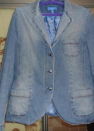 Пиджак джинсовый escada
