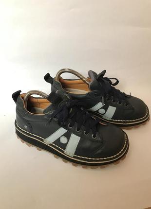 Фирменные кожаные туфли от the art company оригинал 38