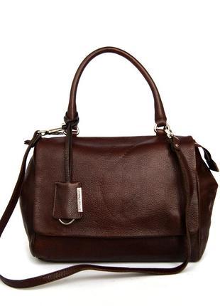Италия. gianni chiarini. кожаная сумка на и через плечо.
