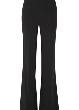 Diane von furstenberg, креповые свободные расклешенные брюки! р.-8