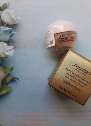 Shiseido future solution lx тональный