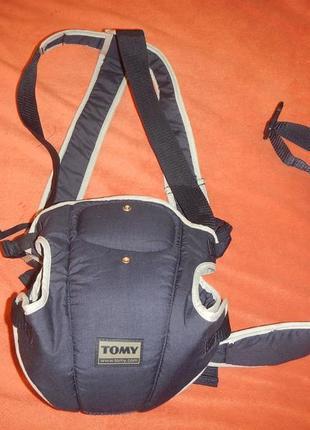 Рюкзак кенгуру tomy cocoon 3,5-9,5кг