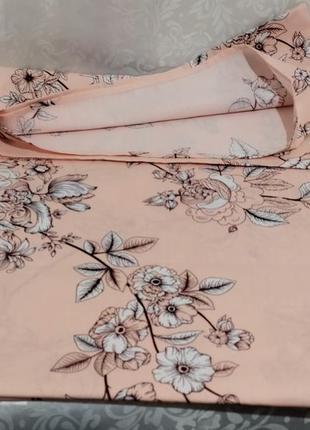 Простыни на резинке из плотной пакистанской бязи gold - цветочная мозаика