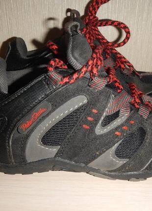 Кроссовки ботинки peter storm р.31(19см) трекинговые