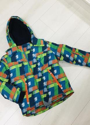 Зимняя термо куртка на 6-7 лет. фирма topolino