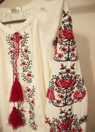 Блуза с вышивкой, вышиванка