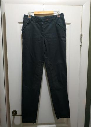 Отличные коттоновые брюки/джинсы trussardi оригинал