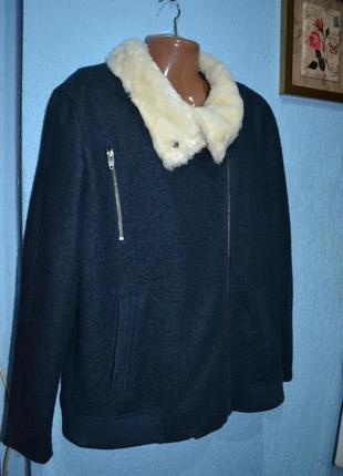 Куртка 50/52, куртка косуха шерстяна, італія