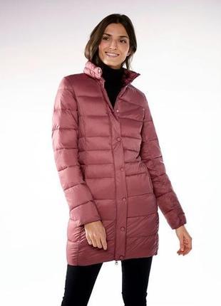 Ультралегкое стеганное термо пальто,не пускает воду esmara 2 размера