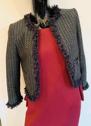 Шикарный пиджак в стиле chanel от sisley