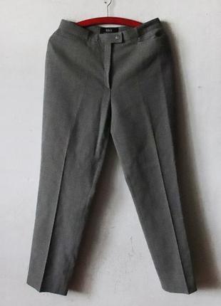 Зауженные брюки brax шерсть высокая посадка