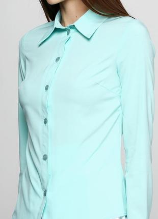 Рубашка большого размера однотонная классическая,р-ры 3xl, 4xl, 5xl