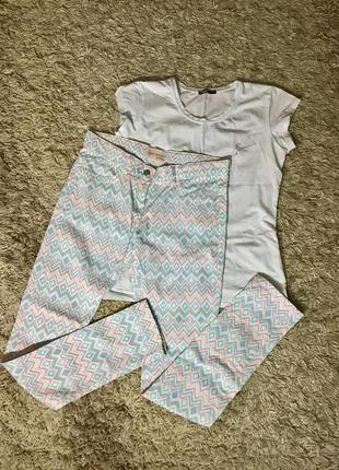 Летние штаны с узорами