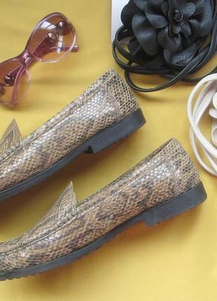 Натуральная кожа,обалденные мокасины,туфли,jenny by ara,р.7 с половиной,отличное состояние