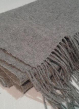 Большой теплый шерстяной супер шарф плед ichi палантин накидка