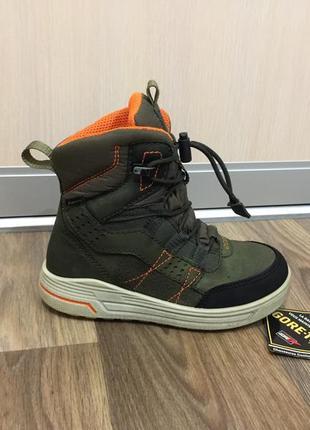 Ботинки зимние сапожки черевики ecco ессо gore-tex р.29 (18.5-19см)